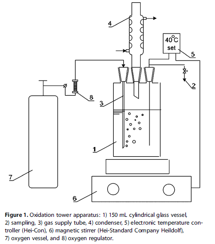 Oxidation tower apparatus