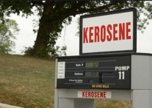 Kerosene hydrotreating